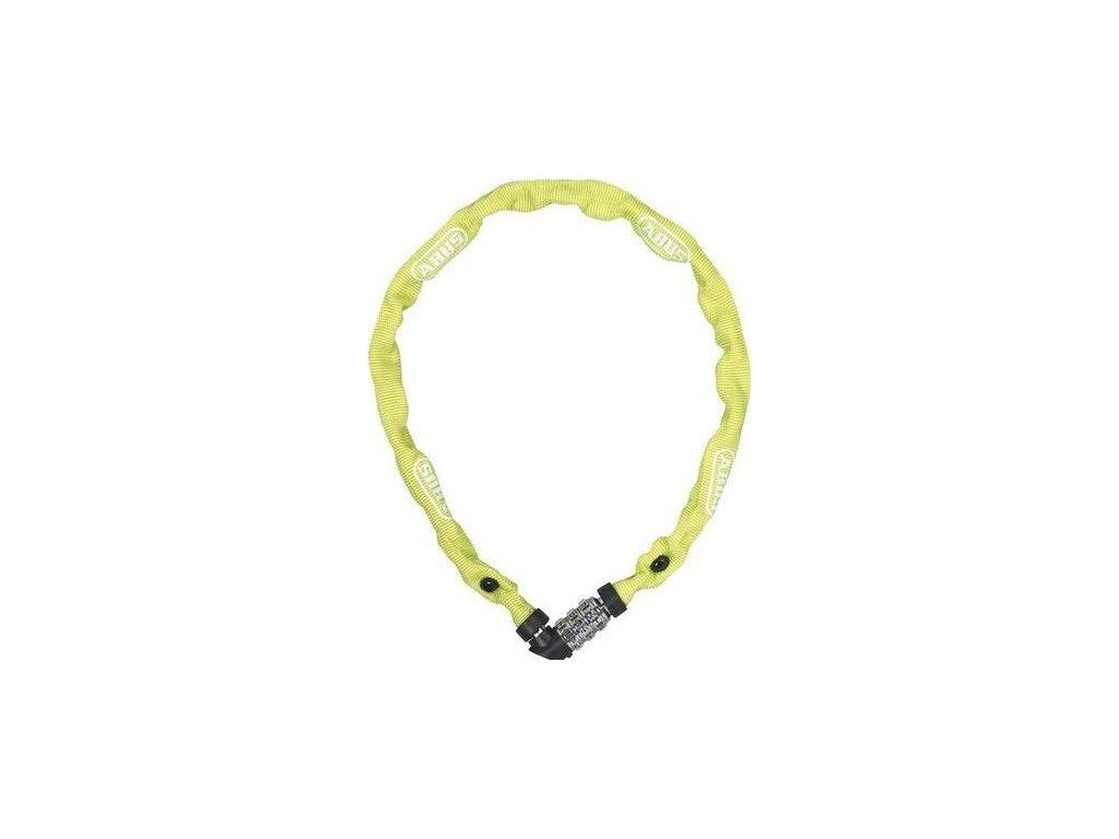 Zámek na kód Abus 1200/110 žlutá