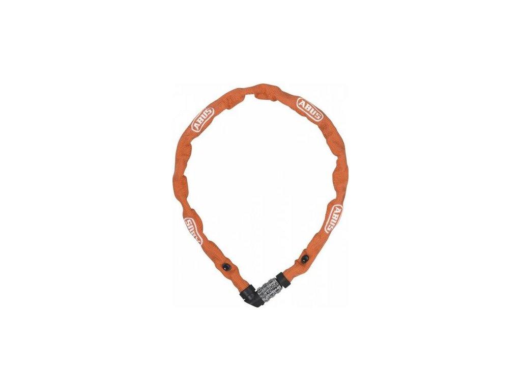 Zámek na kód Abus 1200/110 oranžová