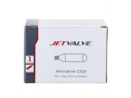 Bombička Jetvalve CO2 16g - sada 30 ks